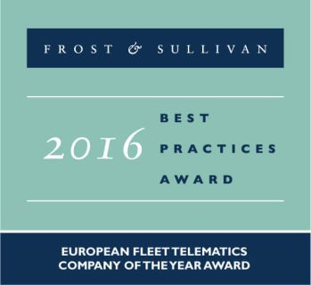 frost and sullivan award 2016