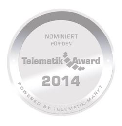 nominated for telematik award 2014:w250