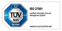 tuev sued iso 27001 colored:h100