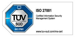 tuev sued iso 27001 colored:h120