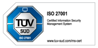 tuev sued iso 27001 colored