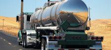 Kraftstoffverbrauch von LKW