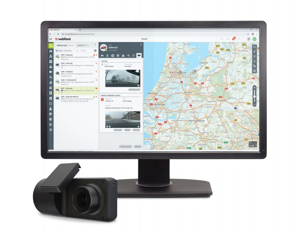 A safe fleet with vehicle monitoring