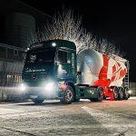 Gerdes+Landwehr truck of sustainable fleet