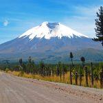 Cotopaxi Volcano Road, Ecuador