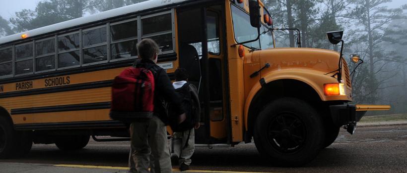 seguridad en transporte escolar