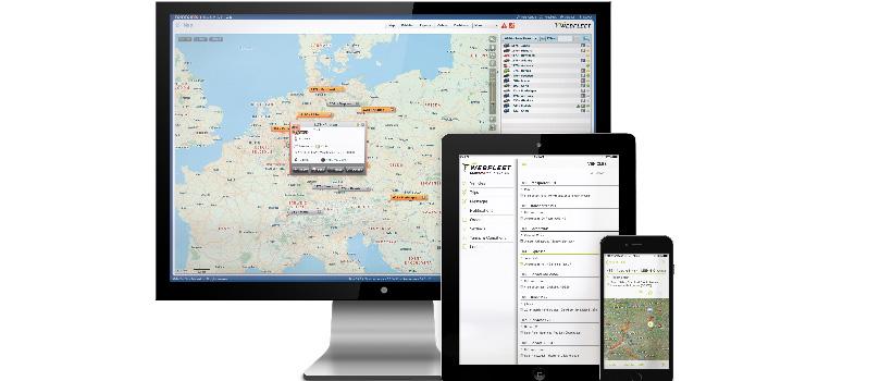 gestión de flotas móvil