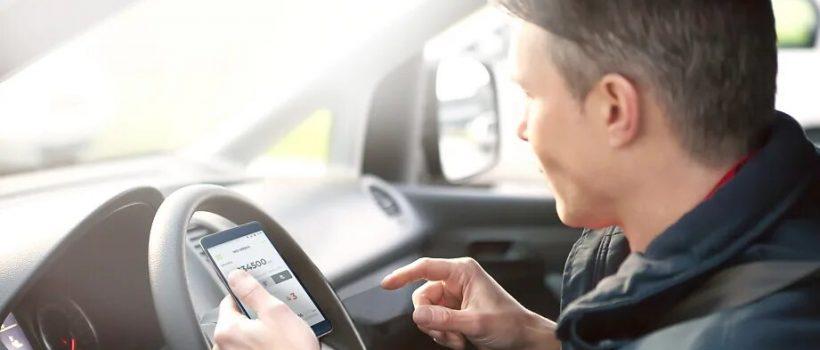 app de registro del kilometraje