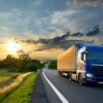 het volgen van vrachtwagens