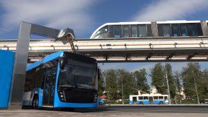 elektrisch wagenpark voor openbaar vervoer