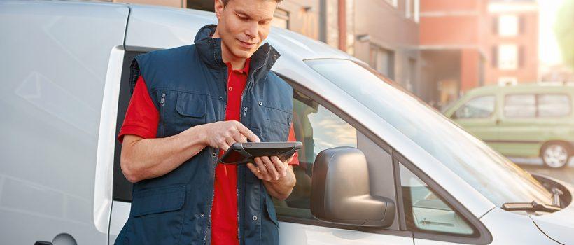 Aplikacja WEBFLEET to ułatwienie pracy kierowców