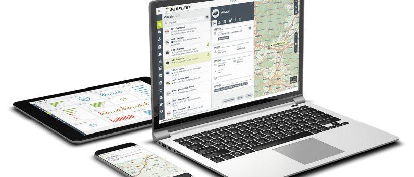 Nowy WEBFLEET to najlepsze rozwiązanie do zarządzania flotą