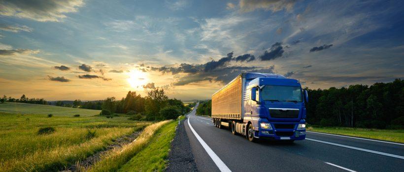 śledzenie ciężarówek