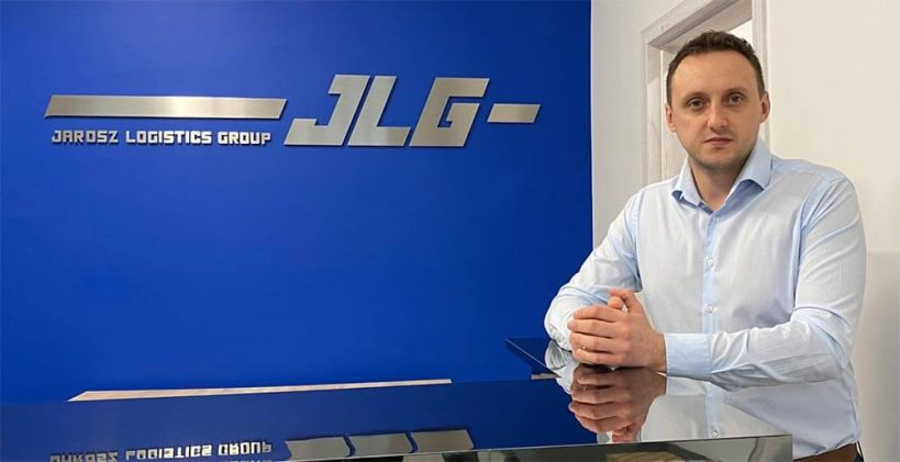 Jarosław Jarosz, Prezes Zarządu, JLG JAROSZ LOGISTICS GROUP (Polska)
