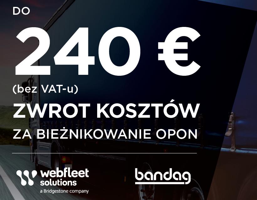 Bandag - Webfleet Solutions - promocja
